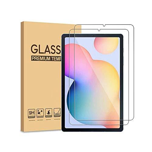Aswant Galaxy Tab S6 Lite Protector de pantalla de cristal templado 9H resistente a los arañazos de tableta HD Protector de pantalla para Samsung Galaxy Tab S6 Lite 10.4 pulgadas 2020 SM-P610/SM-P615