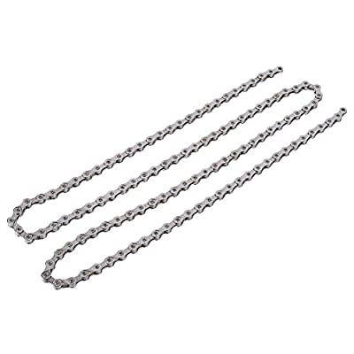 VGEBY Bike Chain, 21/24/27 Speed Bicycle Chain Steel Cycling Hollow-Out Chains for Road Mountain Bike(27 Speed)