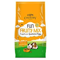 Complementary food for guinea pigs Feed alongside good quality feeding hay Prevents selective feeding Delicious fruity flavour