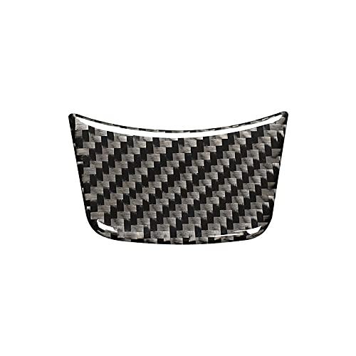 Woalzmt para Audi Sline s Line TT A6 C6 C5 C7 A5 A4 A3 A8 A2 A1 Q3 Q5 S1 S2 S3 S4 S5 S6 S7 S8 Etiqueta de Fibra de Carbono para Volante de Coche