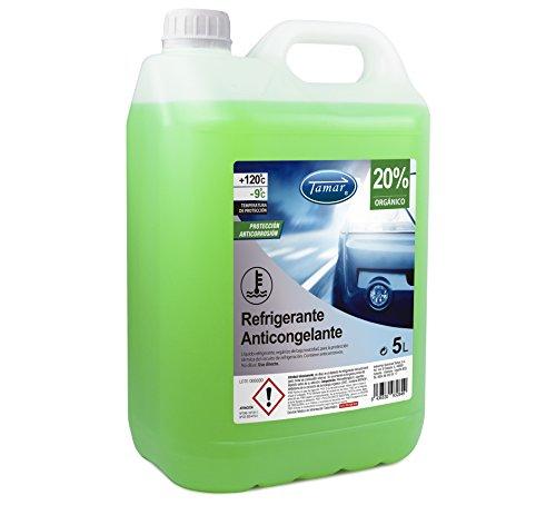 Tamar Refrigerante/Anticongelante 20% Orgánico, 5 litros