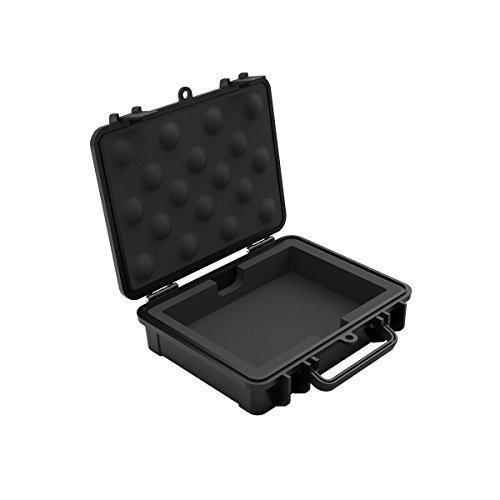 Yottamaster Hårddiskskyddsfodral för 3,5 tum HDD, stötsäker bärbar hårddisk fodral - multi-skydd HDD förvaringsbox [B3]
