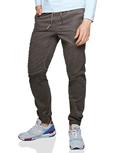 Match Men's Loose Fit Chino Washed Jogger Pant (32