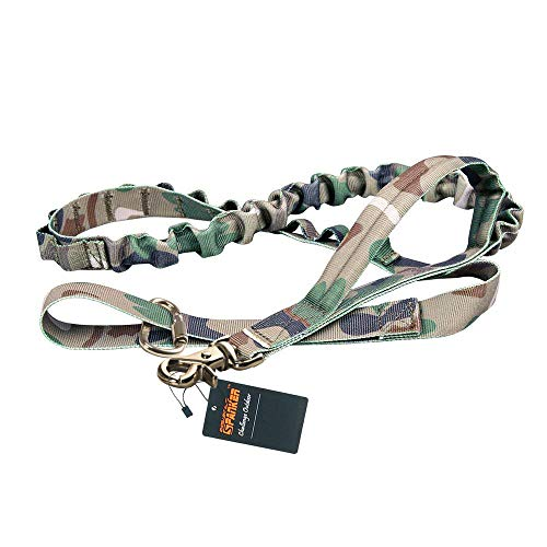 EXCELLENT ELITE SPANKER Hundeleine Einstellbar Walk Trainingsleine(Camouflage)