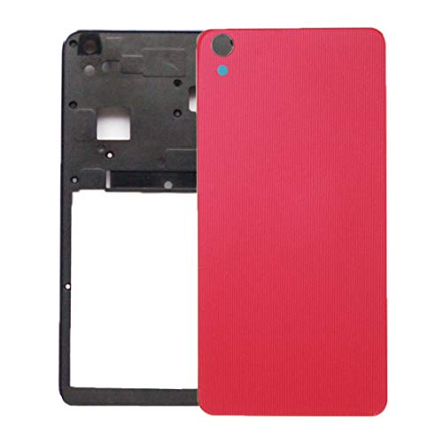 Replacement Phone Back Cover Battery Back Cover for Lenovo S850 (Black) (Color : Red)