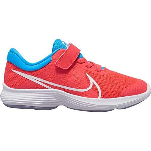 Nike Revolution 4 Disrupt Psv - Scarpe da ginnastica da uomo, colore: rosso/bianco/blu hero-indigo ha, taglia: 12C