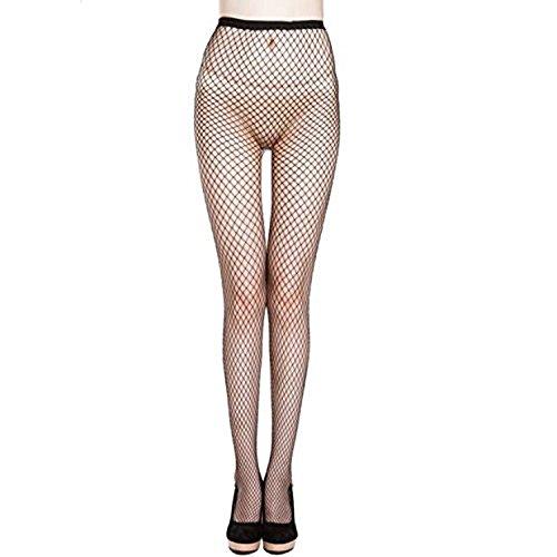 Kolylong® overknee strümpfe Damen Frauen elastische Spitze Oberschenkel Strumpf Strumpfhosen f