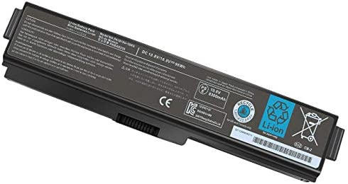 12 Cell PA3819U 1BRS PA3817U 1BRS Laptop Battery for Toshiba Satellite A665 C655 L675 M645 L655 product image