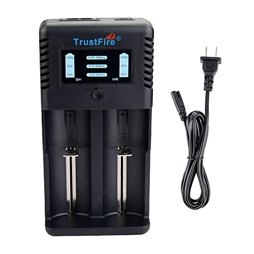 TrustFire TR-019 32650 Battery Charger - 2 Slots for Li-ion IMR LiFePO4 10440 14500 16340 18650 26650 32650