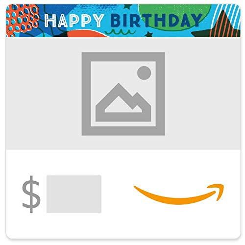 Amazon eGift Card - Your Upload - Birthday Stars