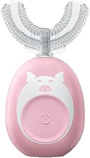 Orale Reiniging Elektrische tandenborstel kids u vormige 2 modi voor 2-7 jaar oude kinderen 360 ° ultrasone reiniging met ...