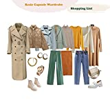 Basic Capsule Wardrobe Shopping List : Discover Your Personal Style and Build Your Dream Wardrobe (English Edition)