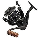 Okuma Custom Carp CC 7000 FD - Karpfenrolle zum Boilieangeln, Angelrolle für Karpfen, Stationärrolle, Big Pit Rolle zum Karpfenangeln