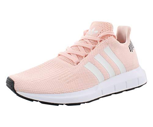 adidas Originals Women's Swift Run Sneaker, ice Pink/White/Black, 7 M US