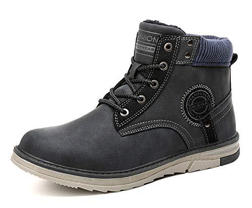 Gaatpot Hombre Botas de Nieve Cálidas y Cómodas Zapatos de Invierno Fur Forro...