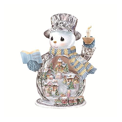 YIBOTE 3D PVC 2021 Adesivi di Natale Home Finestre Decorativo Capodanno Partito di Vetro Porta Dress Up Decalcomanie Decorazione Festa di Natale (Colore: Series-B)