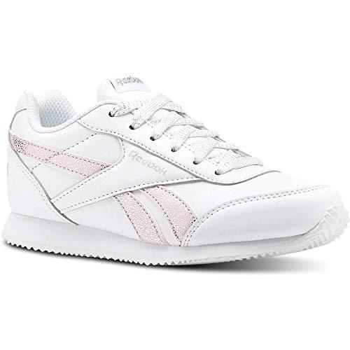 Reebok Royal Cljog 2, Zapatillas de Deporte para Niñas, Multicolor (Pastel/White/Practical Pink/Silver 000), 31 EU