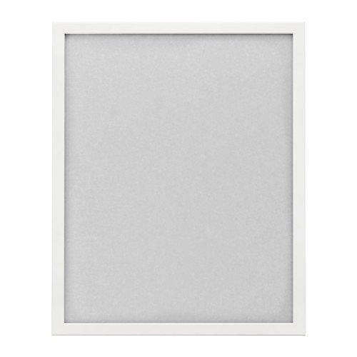 IKEA FISKBO Rahmen in weiß; (40x50cm)