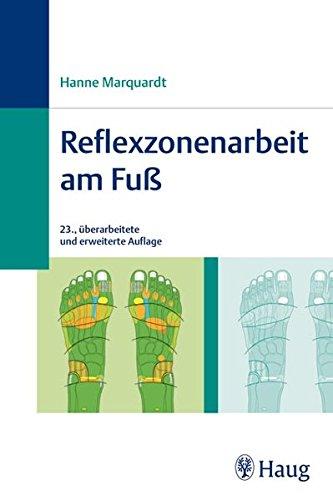 Reflexzonenarbeit am Fuß