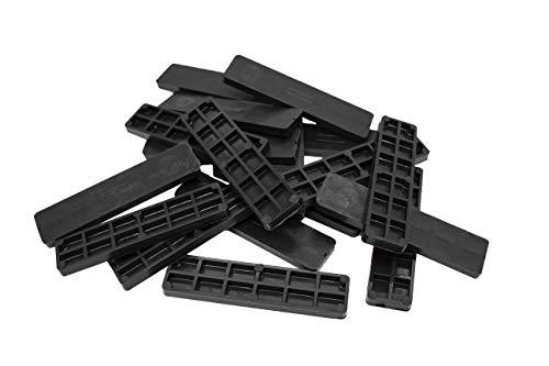 SILISTO Verglasungsklötze Kunststoff 100 x 24 x 6 mm, 1000 Stück