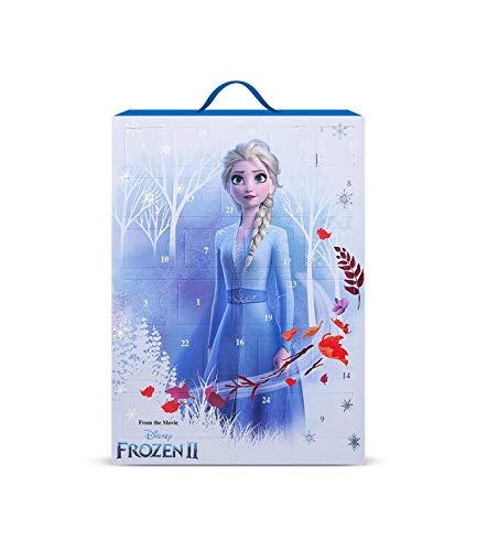 SIX Frozen II Adventskalender für Kinder mit süßen Schmuckstücken und Accessoires zum Aufhängen oder Hinstellen - Motiv Eiskönigin ELSA (371-059)