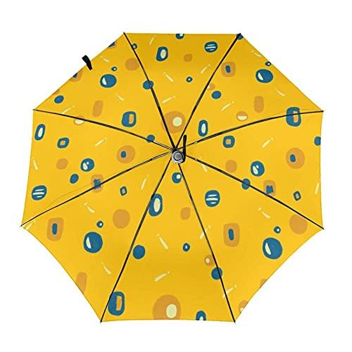 自動折りたたみ傘春の要約防風、防水、耐紫外線性があり、晴れや雨の日に適していますユニセックス。