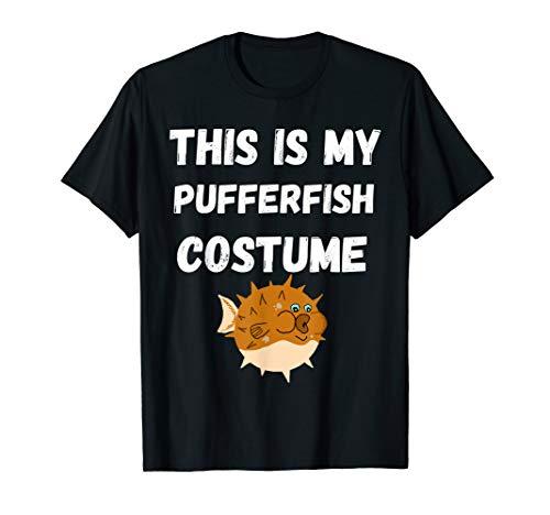 This Is My Pufferfisch Kostüm Kugelfisch T-Shirt Fugo Fisch T-Shirt