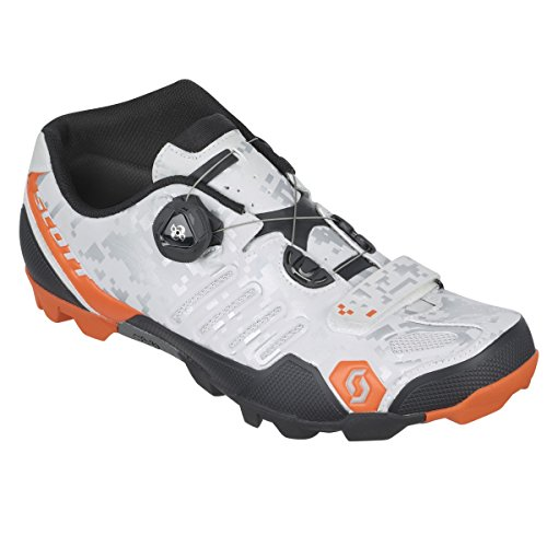 Scott 242142, Zapatillas MTB SHR-ALP RS White/Silver 44.0 Unisex Adulto