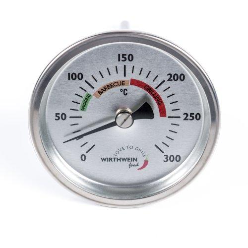 Grillhaubenthermometer / HERGESTELLT IN DEUTSCHLAND / MADE IN GERMANY