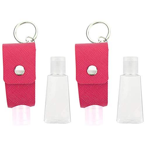 Cabilock - Botella desinfectante con tapa de botella vacía (2 unidades)