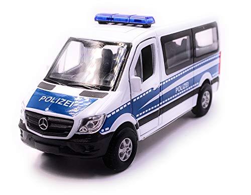 Onlineworld2013 Mercedes Benz Sprinter Polizei Modellauto Auto Maßstab 1:34 (lizensiert)