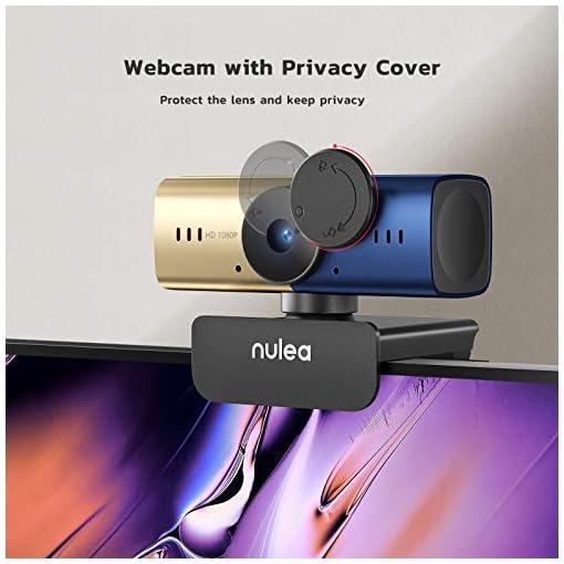 C905 Autoenfoque Webcam con Micrófono, Full HD 1080P/ 30 fps con Cubierta de Privacidad, Cámara Web USB para PC… 6