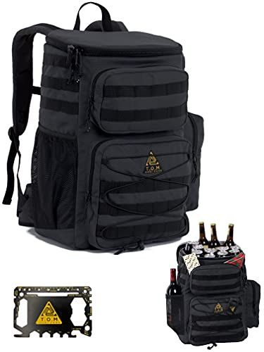 Cooler Backpack, Tactical, Insulated. Heavy Duty, Extra...