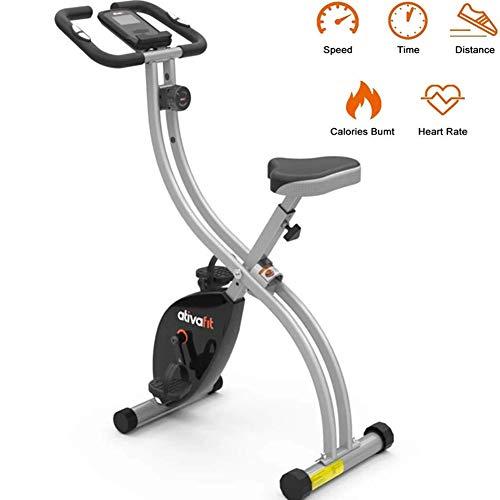 Indoor Cycling Bike hometrainer spinning hometrainer spinning met LED verstelbaar zadel en 8 weerstandsniveaus sporttoestellen bewaking