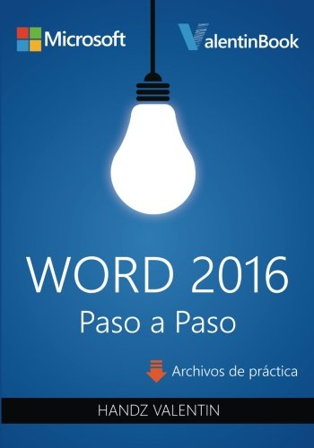 Word 2016 Paso a Paso (Spanish Edition)