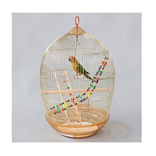 KGDC Gabbia Voliera per Uccelli Bird Cage Ornamentale Parrot Cage Tordo Myna Largo Metallo Bird Cage Pet Home Portable Bird Cage Uccelli Gabbie (Color : B)