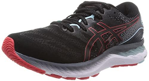 Asics Gel-Nimbus 23, Zapatillas para Correr Hombre, Black/Electric Red, 42.5 EU