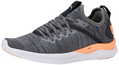 PUMA Ignite Flash Evoknit SR Wn's, Zapatillas de Running para Mujer, Gris (Castlerock/Fizzy Orange Black), 36 EU