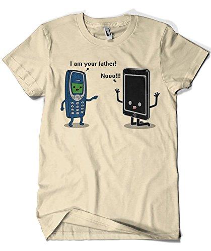 1227-Camiseta I Am Your Father Phone (Melonseta)