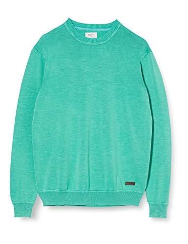 Pepe Jeans Dani Suéter, Verde (Middle Green 631), Medium para Hombre