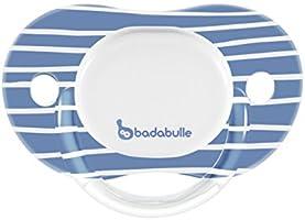 Badabulle B011006 Succhietto reversibile Boy Silicone All stars 12-36 m x2, Blu