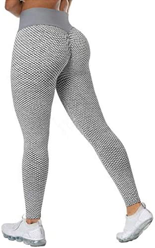 MOOSLOVER Women Scrunch Butt Lifting Workout Leggings Textured High Waist Anti Cellulite Yoga product image