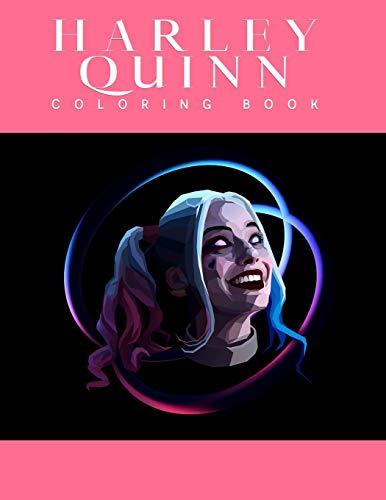 41U1vUlTIRL Harley Quinn Coloring Books
