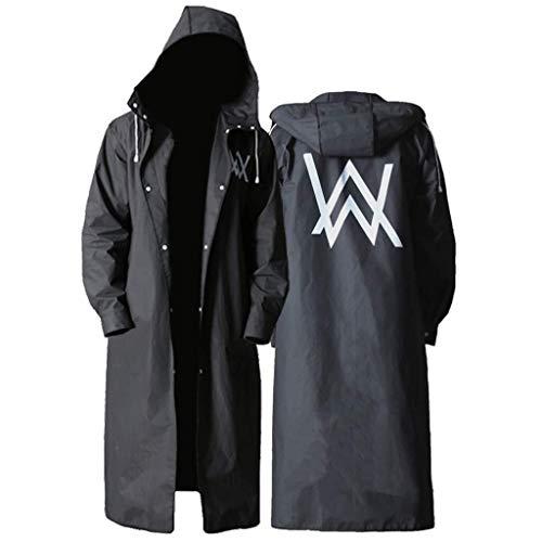 YDS Shop Speciaal outdoor-windjack voor heren, waterproof voor rug, klassiek, modieus print, dubbele verdikkingsbehandeling, paardrijden, wandelen X-Large