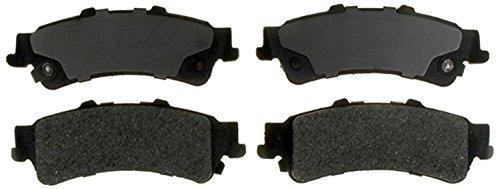 ACDelco Silver 14D792M Semi-Metallic Rear Disc Brake Pad Set with Wear Sensor