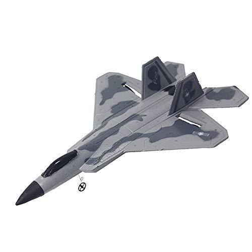 LinGo Avión RC Glider Toys EPP Espuma Plano De Control Remotocon Juguete De Cable De Carga Remota Caza De Reacción Modelo De Avión Adecuado para Niños Principiante