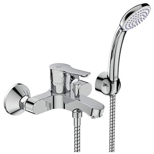 Ideal Standard BC676AA Alpha Miscelatore esterno vasca doccia, con accessori, cromato