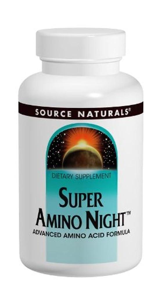 レインコート起こる薬局Source Naturals スーパーアミノナイト 120粒 海外直送品