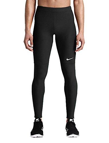 Nike Mens Running Tights Team (Small, Black)