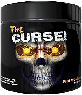 Cobra Labs The Curse Ultimate Pre-Workout Powder For Insane Energy Orange Mango 50 Servings